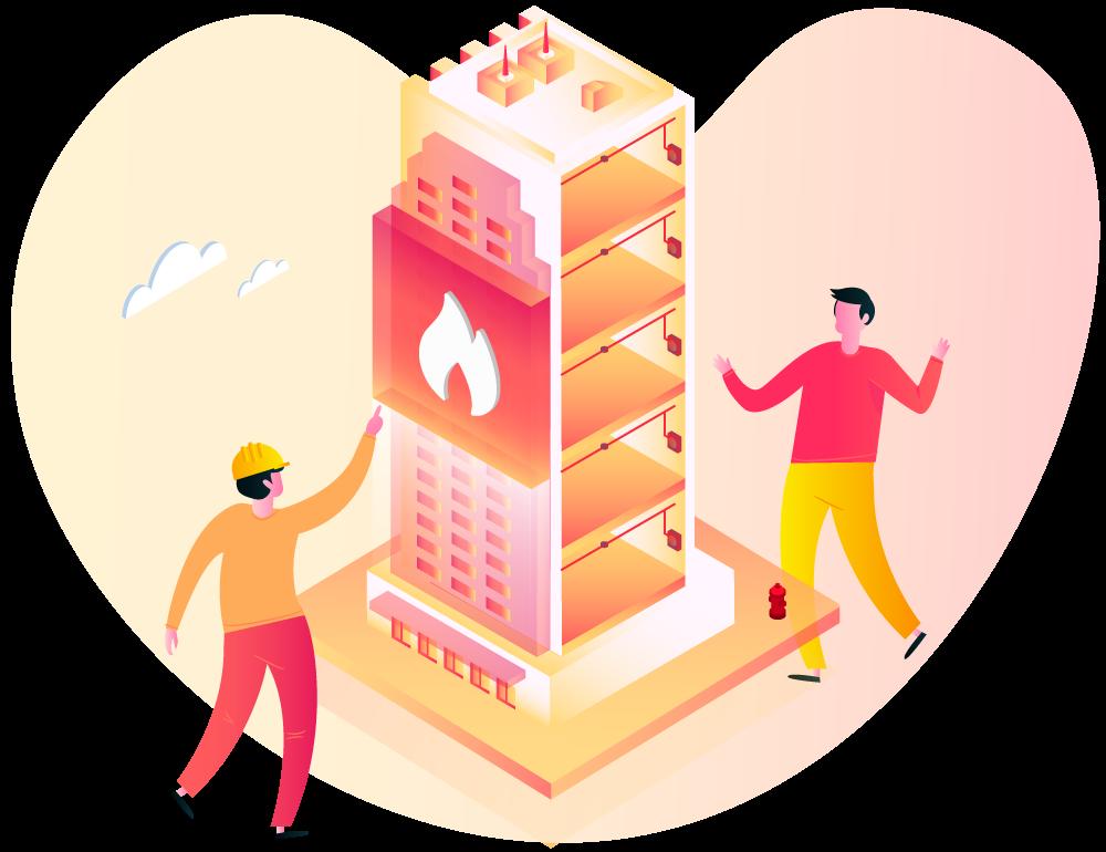 ilustração Crie e compatibilize projetos de instalações